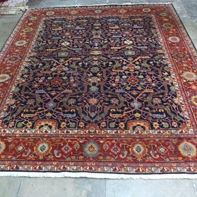 Hand-knotted Wool Persian Carpet 60 X 90 cm