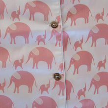 Load image into Gallery viewer, Ladies  Short Sleeve Pyjamas Tops in Simple luxury Elephants