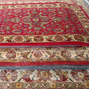 Persian Style Hand-tufted Organic Wool Rugs