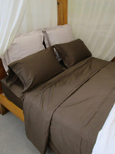 Simple Luxury Sheet Set in Rich Chocolate