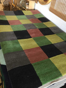 Conventional Wool Rug - Patchwork