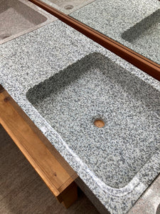 sink single grey granite