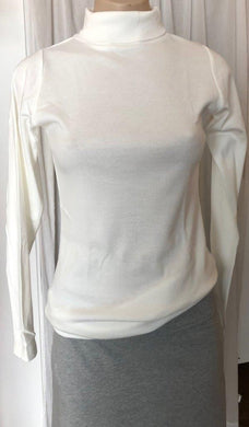 Ladies Skivvy in White