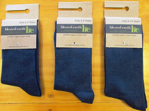 Childrens Organic Cotton Sports Sock