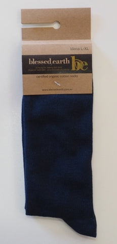 Mens Calf Sock -black