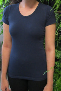 Ladies Sports Yoga Crew Tops