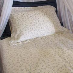 Simple Luxury Quilt Set in Natural Star Design