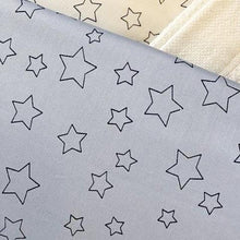 Load image into Gallery viewer, Simple Luxury Quilt Set in Silver Dawn Star Design