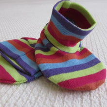 Load image into Gallery viewer, Baby Booties   - Stripe