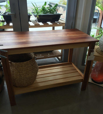 Natural Timber Island Bench