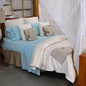 Simple Luxury Sheet Set in Tahitian Blue