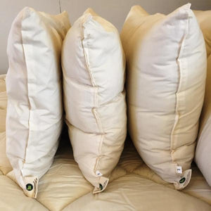 Thin wool pillow 450gm