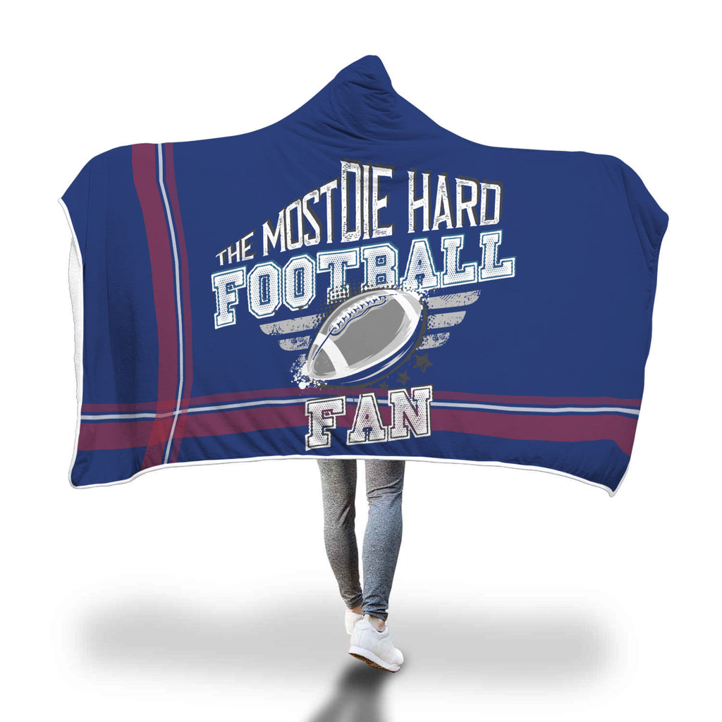 Marine Red Football Bleacher Blanket