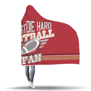 Cherry Gold Football Bleacher Blanket