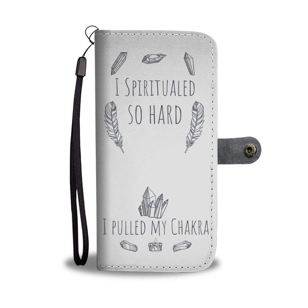I Spiritualed Light Wallet Case