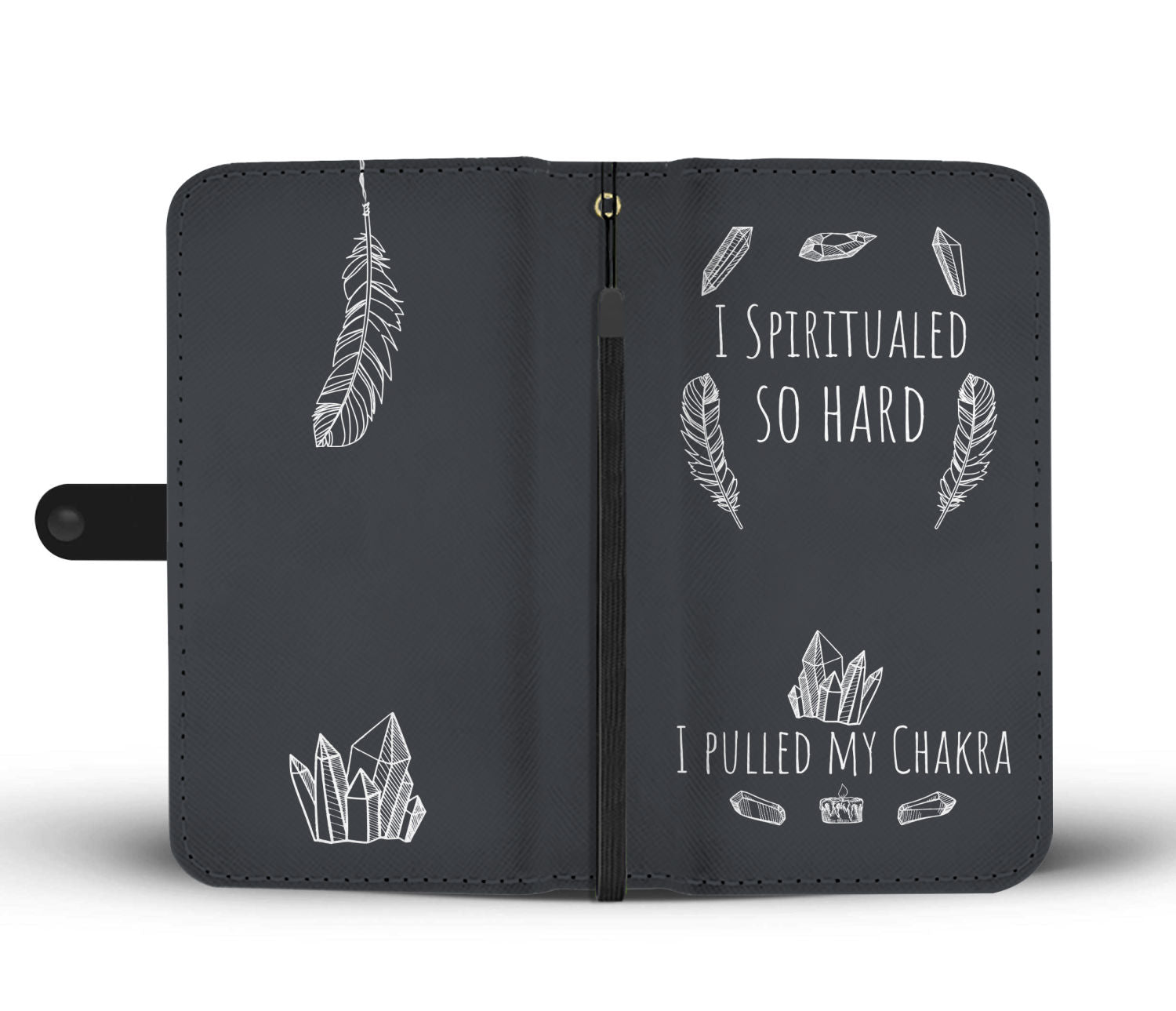 I Spiritualed Dark Wallet Case