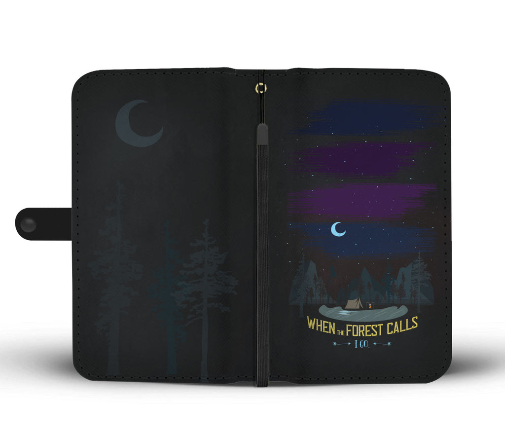 When The Forest Calls Wallet Case