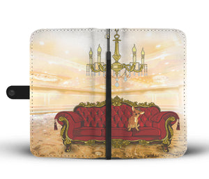 Queen Of The House Wallet Case