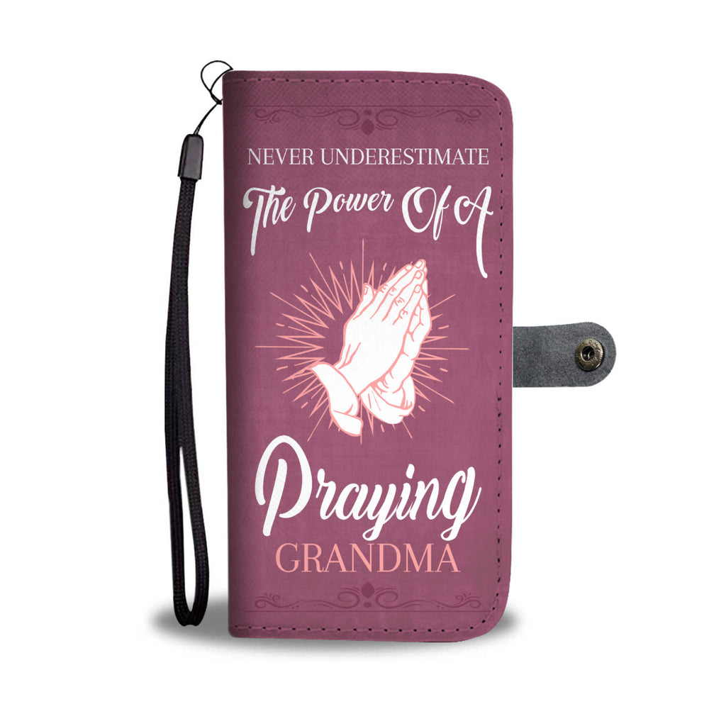 Praying Grandma Wallet Case