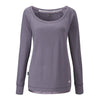 Loungewear Lounge Top in Smokey Pearl from Pretty You London