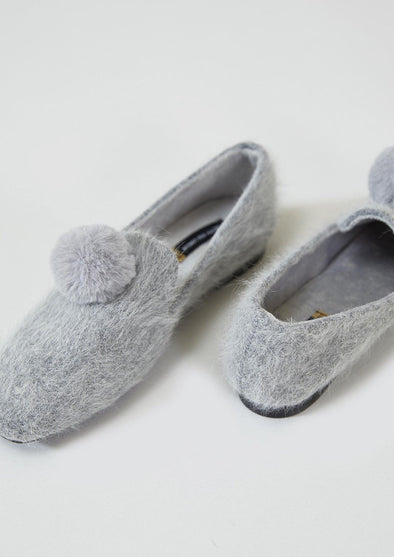 Slippers Womens House Shoe Blair - Grey from Pretty You London