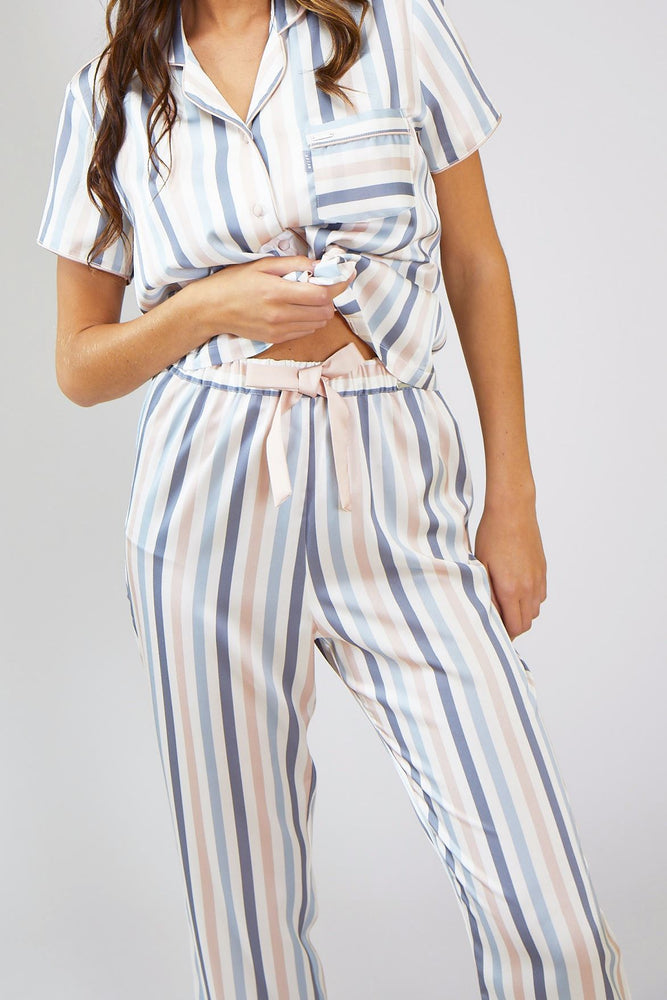 Nightwear Womens Nightwear Trousers - Candy Multi Stripe from Pretty You London