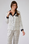 Womens Animal Spot Pyjama Set