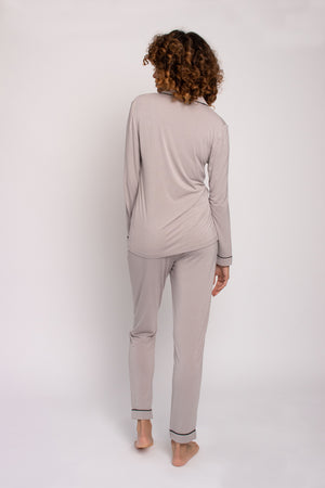 Bamboo Pajama Set in Mink