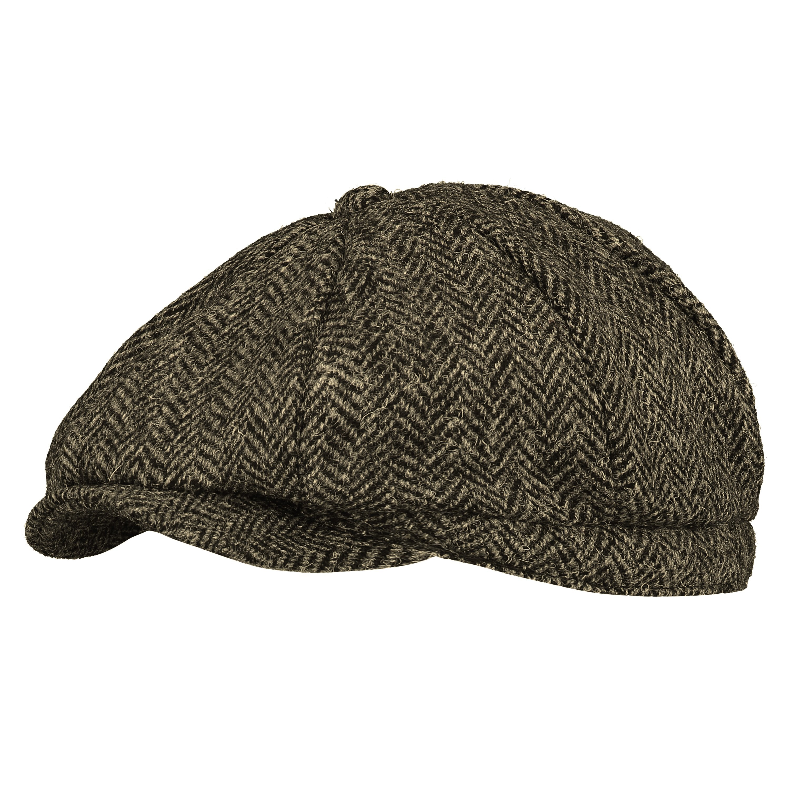 18fb71f3114ca Mens Harris Tweed Bakerboy Flat Cap Hat from Ugly Me London – Pretty You  London US