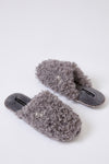 Womens Mule Slippers Beau in Grey