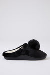 Womens Mule Slippers Clara in Black
