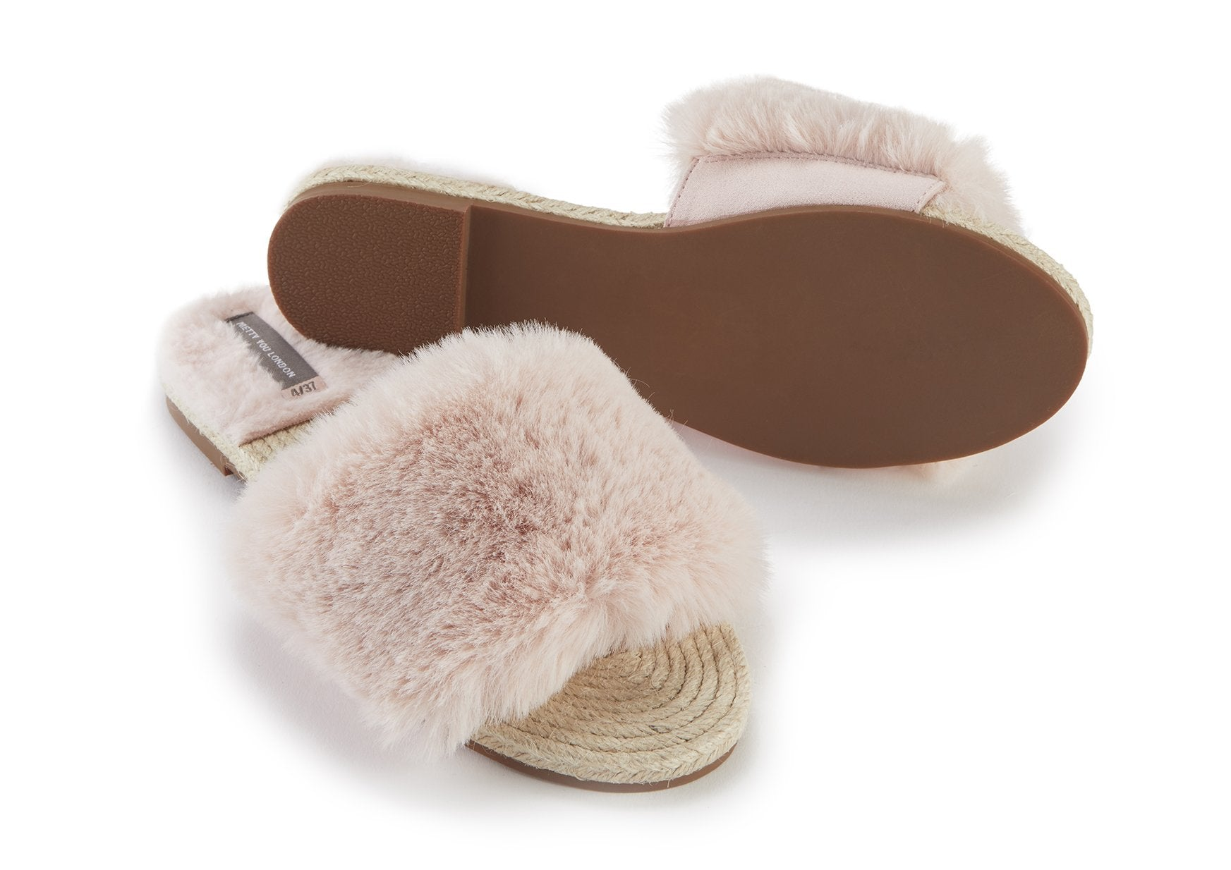 b89e825c05b2 Womens Pink Sliders Sandals from Pretty You London – Pretty You ...