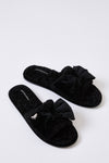 Womens Slider Slippers Matilda in Black