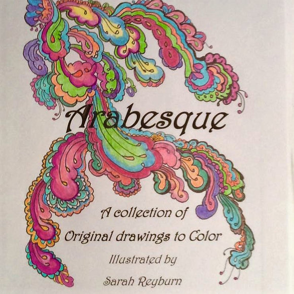 Arabesque - A Coloring Book