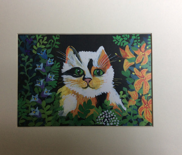 Set of for CrazyCatLady Art Cards