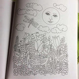 Moon Struck - A Coloring Book