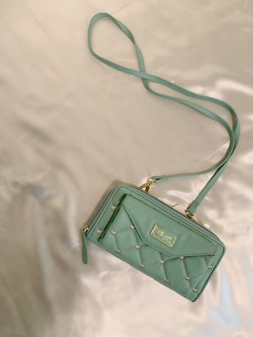 Teal Betsey Johnson Purse