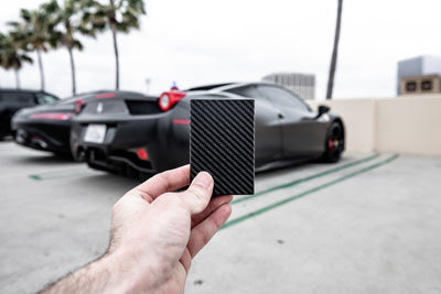 'Black' Carbon Fiber Wallet 2