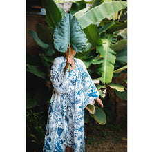 Load image into Gallery viewer, Blue Tones Bali Jungle Jumpsuit in Tencel