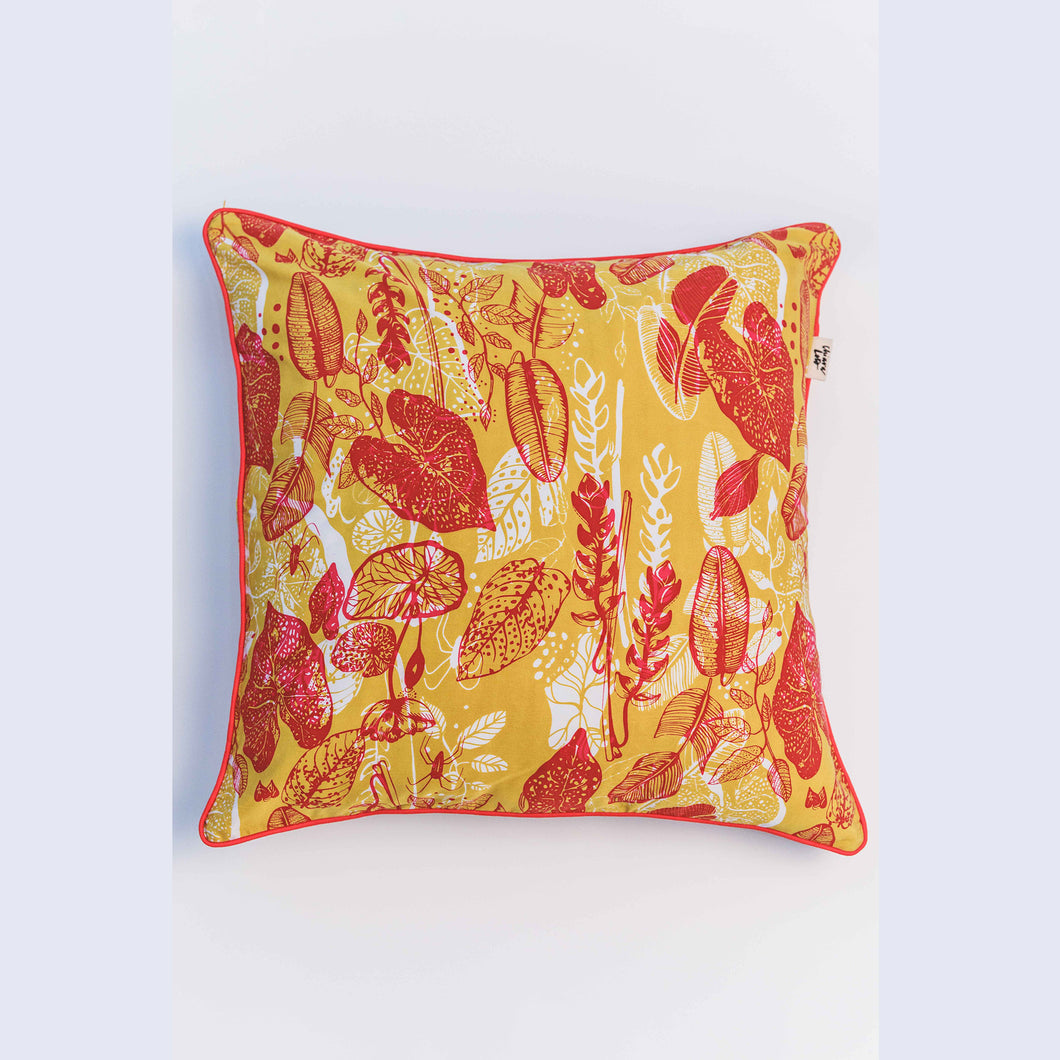 Tropical Mess Cushion Cover