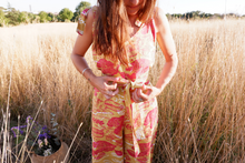 Load image into Gallery viewer, Tropical Mess Jumpsuit - Gold