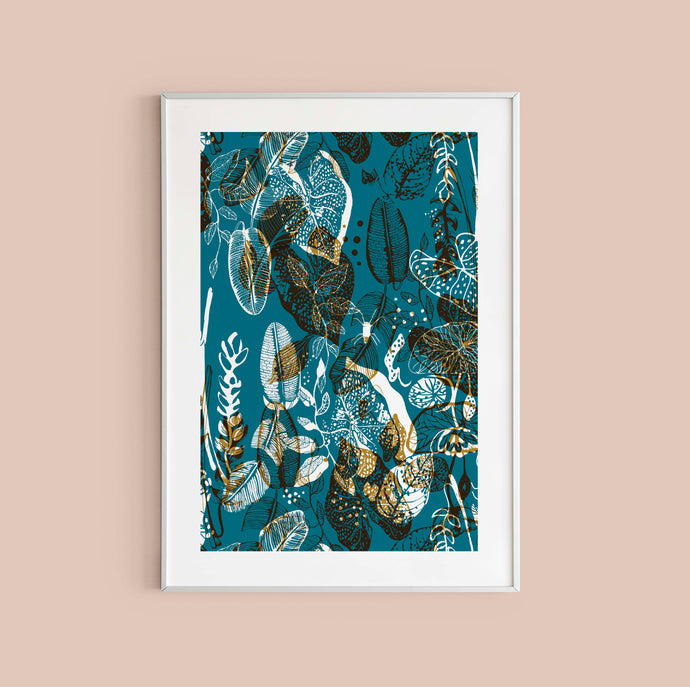 Tropical Mess Print