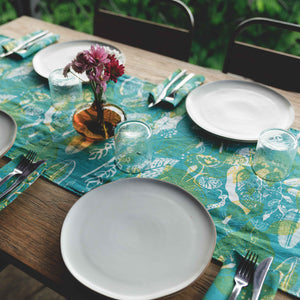 Tropical Mess Table Runner