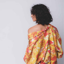 Load image into Gallery viewer, Tropical Mess Kimono -  Gold