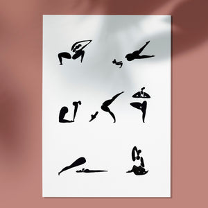 Yoga Sequence n.2 Print