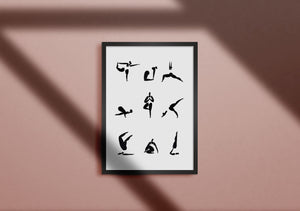 Yoga Sequence n.1 Print