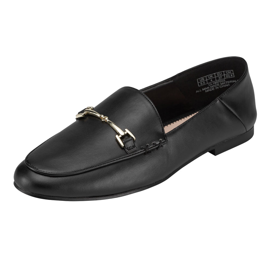 Hestia Loafer Flat Black