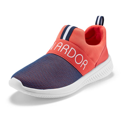JENN ARDOR Women's Walking Casual Sneakers Lightweight Slip-On Breathable Mesh Outdoor Sports Shoes