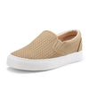 JENN ARDOR Women¡¯s Fashion Sneakers Perforated Slip on Flats Comfortable Walking Casual Shoes