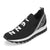 Sneakers Slip On Walking Shoes Casual Platform Shoes Black